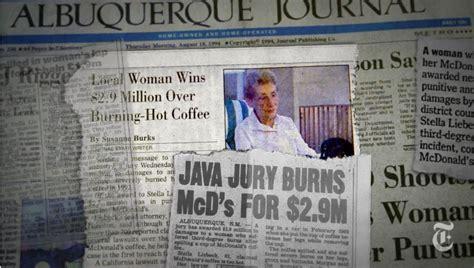 coffee mcdonalds woman mcdonald sued too extratv