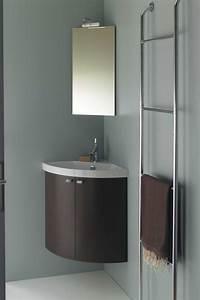 Meuble Vasque Angle : cuisine lavabo angle salle bain meuble de salle de bain d ~ Teatrodelosmanantiales.com Idées de Décoration