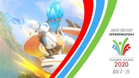 overwatch summer games event skins retour est commence kembali lucioball remix regardez bande ici nouvelle giochi estivi annonce lagi ada