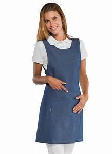 Cote De Travail Femme : tablier de travail en jeans pour femme tablier jeans ~ Dailycaller-alerts.com Idées de Décoration
