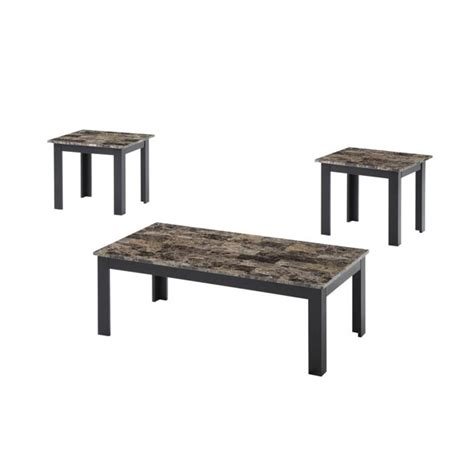 You can place them in your. Faux Marble Brown Coffee Table Set - Walmart.com - Walmart.com