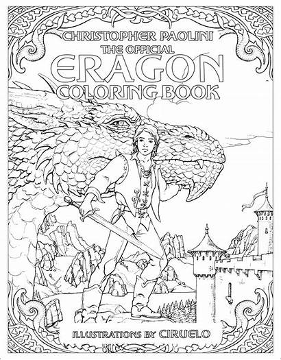 Eragon Coloring Official Cycle Inheritance Pdf Autographed