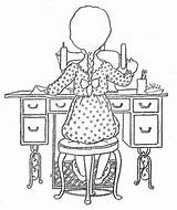 Coloring Sewing Embroidery Holly Patterns Machine Hobbie Singer Quiet Bordado Hh Patroned Mano Bonnie Jones Picasa Naehen Stickerei Google Album sketch template
