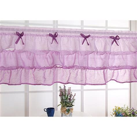 Purple Ruffle Curtains by Ruffle Curtain
