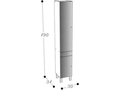 colonne cuisine 30 cm colonne de salle de bain 2 portes 1 tiroir soramena