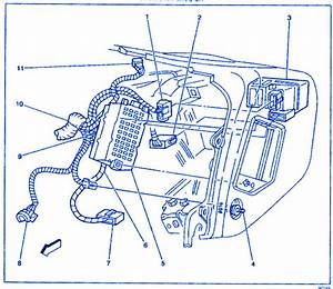 Daewoo Lanos 2008 Engine Electrical Circuit Wiring Diagram