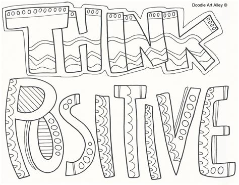 Sayings Coloring Pages