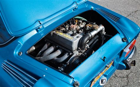 renault alpine a310 engine dreams of blue 1975 renault alpine a110 berlinette