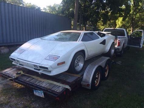 1978 lamborghini countach kit car for sale