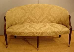 Georgian Settee Small Antique Mahogany Sofa Antique