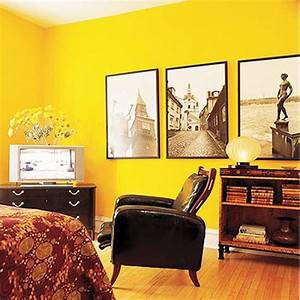 Yellow room decorating sunny and happy designs