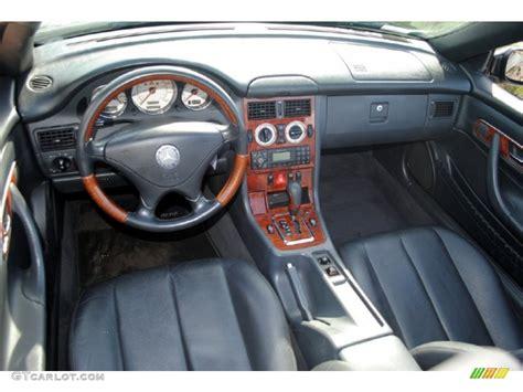 mercedes dashboard 2002 mercedes benz slk 320 roadster charcoal dashboard