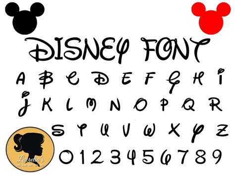 If you are new to dreaming tree, this is a wonderful place to start. Disney Font Svg - Instant Download - Disney Cut File ...