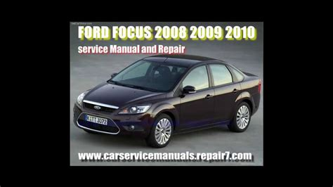 ford focus    service manual  workshop