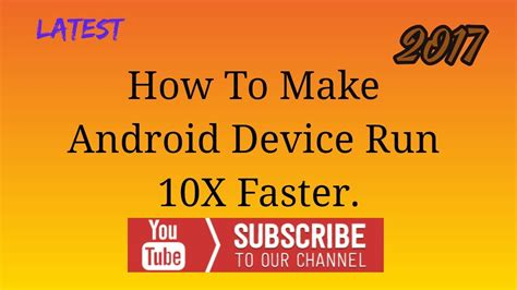 how to make fan work on android how to make android device work faster youtube