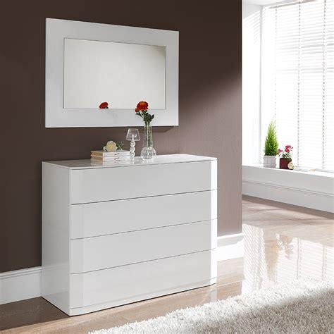 commode chambre blanc laqué commode blanc laque pas cher