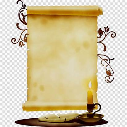 Scroll Background Clipart Transparent Clip Yellow Fixture