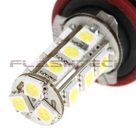 h11 led fog light bulb flashtech h11 18 smd led fog light bulb