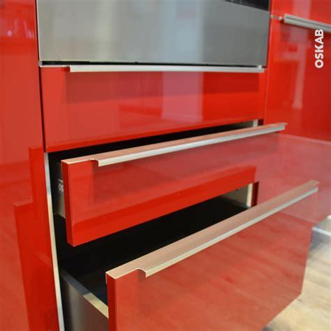 le輟n de cuisine poignée de meuble de cuisine n 37 inox brossé 100 cm entraxe 256 mm sokleo oskab