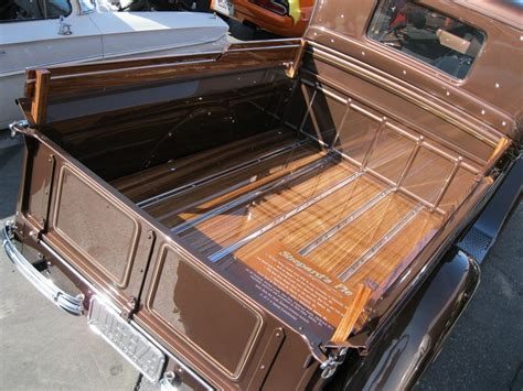 build wood truck bed  ford pickup closed cab truck