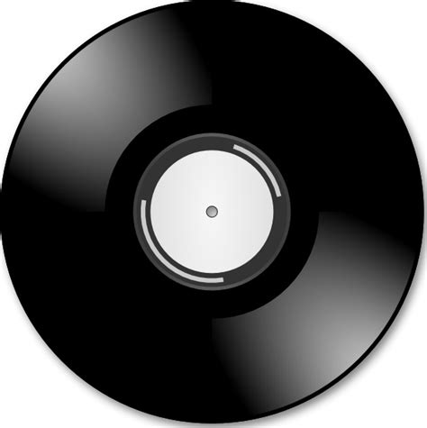 Record Clipart Vinyl Disc Record Clip Free Vector In Open Office