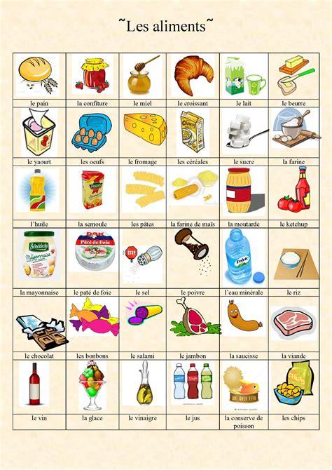 le marché des cours de cuisine vocabulaire des aliments de la nourriture et de la cuisine again juliette bourdier