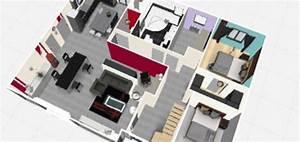 Plan 3d En Ligne : faire plan maison 3d gratuit en ligne sofag ~ Dailycaller-alerts.com Idées de Décoration