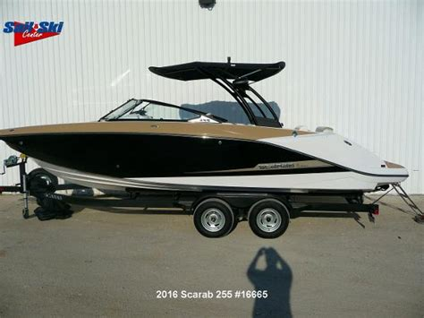 Scarab Boat Dealers In Texas by Scarab 255 Boats For Sale In Texas
