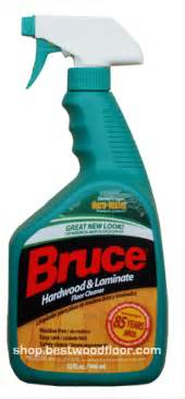 bruce hardwood laminate floor cleaner 32oz for no wax finish