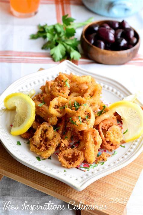 calamars frits recette tapas facile le cuisine de