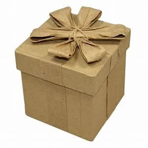 Boite En Carton Avec Couvercle : boite carr e en carton avec noeud 5x5xh6 6cm boite ~ Dode.kayakingforconservation.com Idées de Décoration