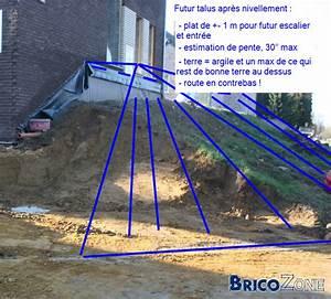 Bache Géotextile Pour Gravier : geotextile pour talus pose bache talus exoteck ~ Dode.kayakingforconservation.com Idées de Décoration