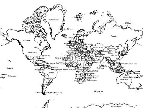 Carte Du Monde à Gratter Avec Drapeau by Carte Du Monde Avec Pays Noir Et Blanc