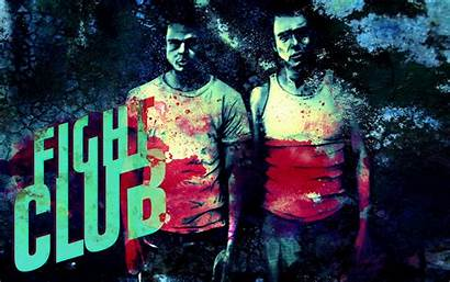 Fight Club Title Blood Wallpapers Desktop Fighter