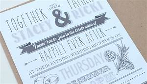 getting your wedding invites right heart invites With wedding party invitations after getting married abroad