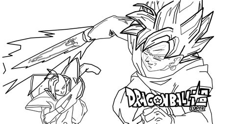 Goku Ssj3 Coloring Pages - Sanfranciscolife