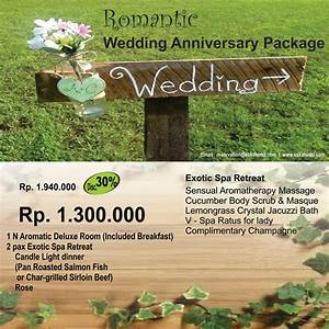 Romantic wedding anniversary package eska group for Wedding anniversary vacation packages