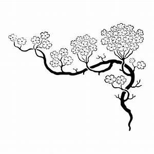 Tatouage Arbre Japonais : stickers cerisier japonais japon cerisier japonais ~ Melissatoandfro.com Idées de Décoration