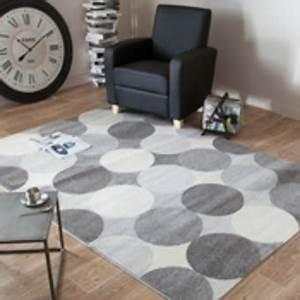 Tapis Salon Poil Ras : grand tapis gris poil ras dry wired ~ Teatrodelosmanantiales.com Idées de Décoration