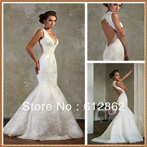 wedding dresses mermaid backless With mermaid backless wedding dress