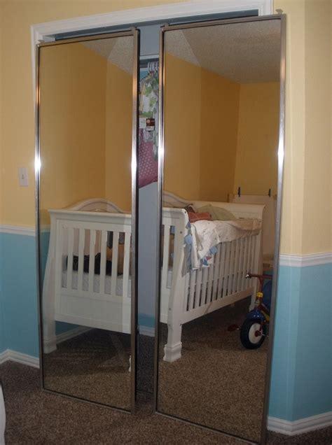 Mirrored Sliding Closet Doors Makeover  Home Design Ideas