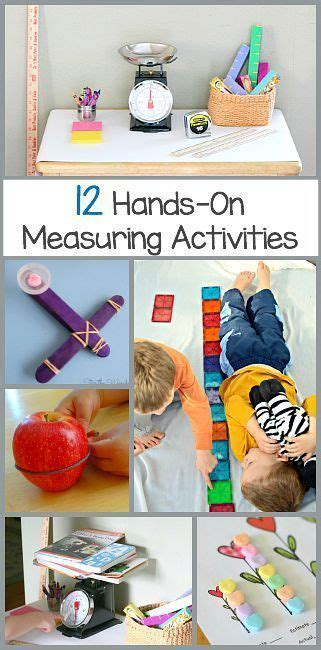 hands  measurement activities teaching measurement
