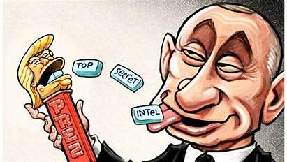 Trump Cartoons Week Donald Cartoonists Putin Political