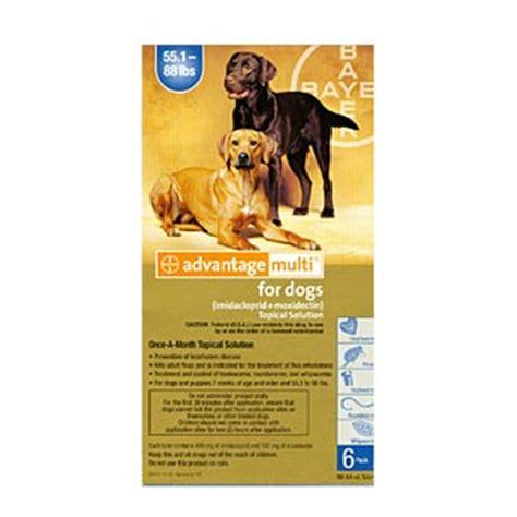 buy advantage multi  dogs advocate flea heartworm