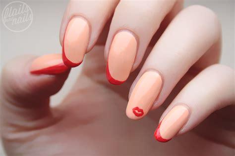 dita von teese nails dita von teese inspired nail art with models own peach
