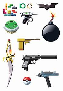 An Illustrated Guide To Famous Pop Culture Weapons ...