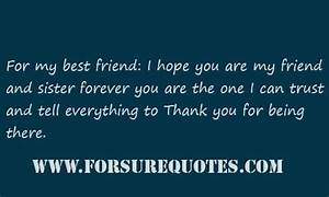 I hope you are my friend forever sayings image quotes ...