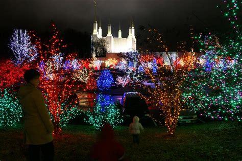 washington dc temple lights lights