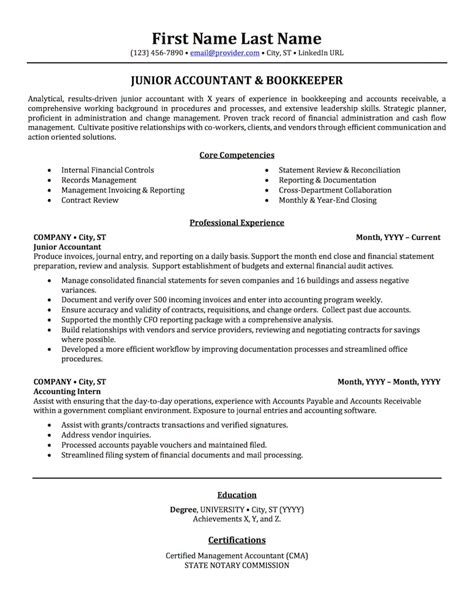pretty sample resume accounting images  amazing