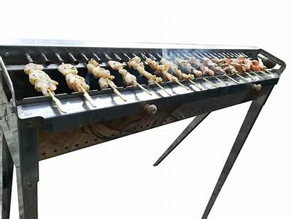 Clipart Barbecue Stick Grill Rack Churrasco Skewer